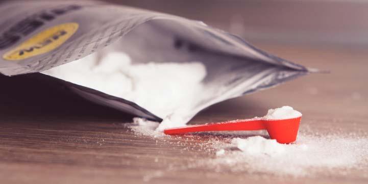 Acides aminés en poudre